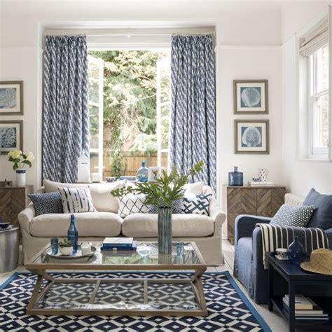 Interior Design Ideas Blue Living Room by 40 Blue Curtain Designs Living Room Aliexpresscom Buy