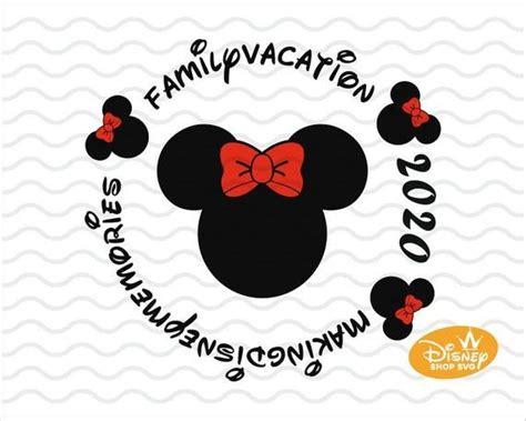 Free disney svg updated their website address. Disney Family 2020 Vacation SVG / Disney Trip / Minnie ...