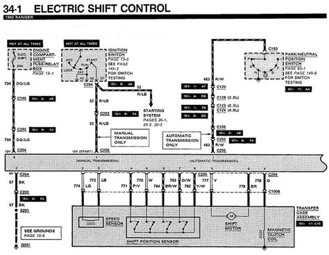 2001 Ford Ranger 4x4 Wiring Diagram by 93 Ford Ranger Will Not Switch Into 4x4 Mode