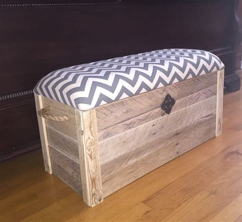 hope chest toy box entryway bench storage  thedavidsondesign