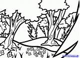 Forest Draw Forests Coloring Backgrounds Step Drawing Kelp Pages Landscapes Background Dragoart Easy Dawn Landscape Desktop Types Getdrawings Woodland Tutorial sketch template