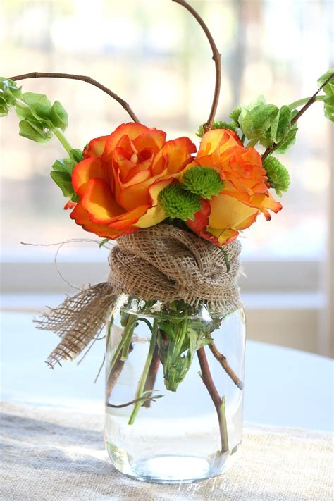 fall flower arrangements fall mason jar flower arrangement mason jar crafts love