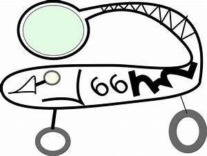 OnlineLabels Clip Art - Space Car