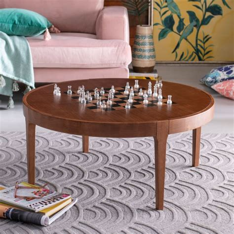 A couple of people who love board games and want to help you find a great game to share with family and friends!. Game Board Wood Coffee Table by Drew Barrymore Flower Home - Walmart.com - Walmart.com