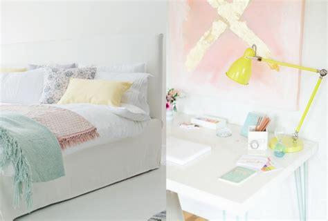 couleur pastel chambre déco pastel le printemps dans la maison joli place