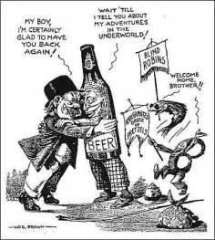 1920s Prohibition Cartoons