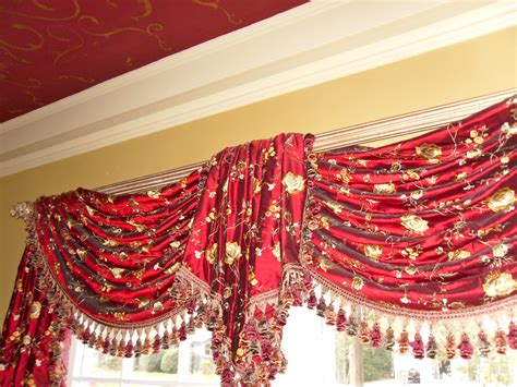valances  swags  curtains boutique  nj