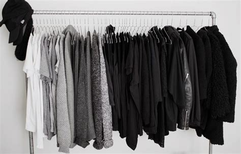 Black Clothes Wardrobe by Closet And Everything Is Black White And Grey Drestfinds