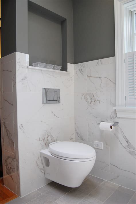 wall hung toilet less is more for wall hung toilets normandy remodeling