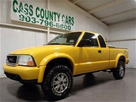 how make cars 2002 gmc sonoma electronic valve timing purchase used 2002 gmc sonoma sls zr2 extended cab 4x4 automatic power windows 132 705 miles in
