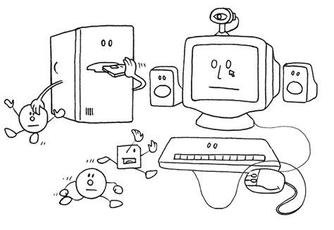 disegni da colorare con il computer sta colora e scarica gratis immagini e disegni di pc