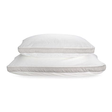 pillows bed bath and beyond isotonic 174 indulgence side sleeper pillow bed bath beyond