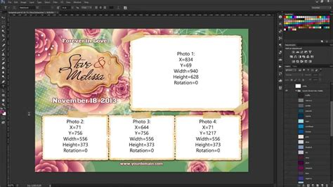 photo booth psd template photoshop cs3 saving your photo booth template assets