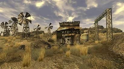 Wind Nevada Farm Southern Fallout Vegas Wiki