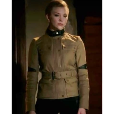Natalie Dormer Elementary by Elementary Natalie Dormer Moriarty Leather Jacket