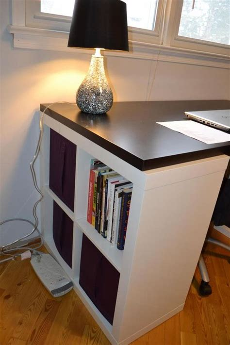 expedit bureau kallax is not a chunky as expedit so maybe linnmon will