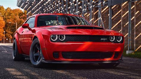 Wallpaper Dodge Challenger Srt Demon, 2018, Hd, Automotive