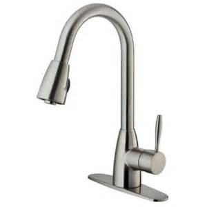 stainless steel pull out kitchen faucet vigo graham single handle pull out sprayer kitchen faucet with deck plate in stainless steel
