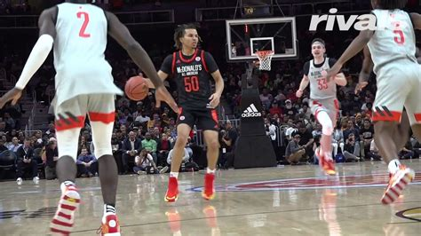 mcdonalds  american game cole anthony highlights