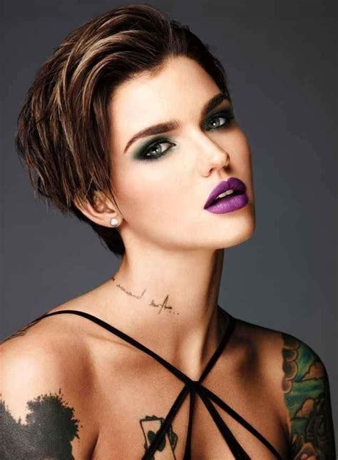 ruby rose gallery photo gallery of ruby rose short hairstyles viewing 5 of
