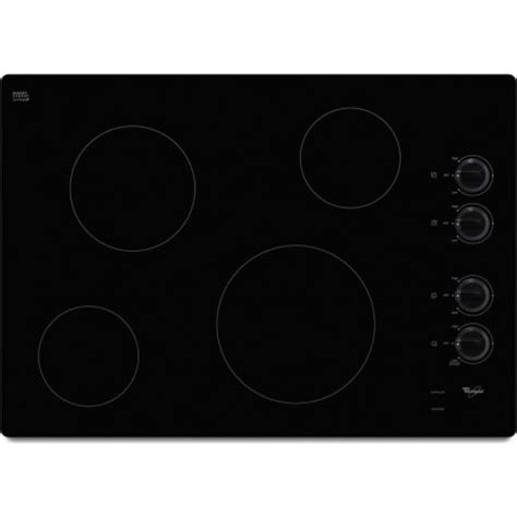 wcexb whirlpool  electric ceran glass cooktop