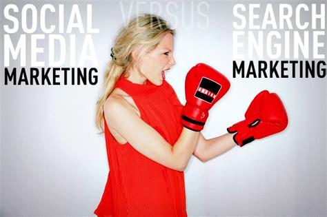 Social Engine Marketing - social media marketing vs search engine marketing which