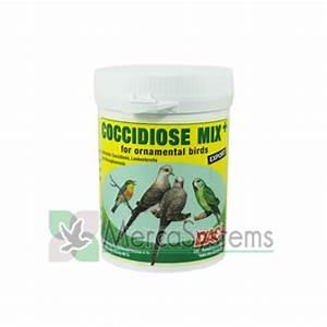 dac coccidiose mix 100 gr tratamento contra a coccidiose e atoxoplasmosis para passaros