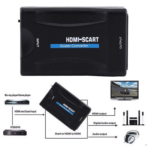 hdmi to scart av cvbs 1080p hdmi to scart converter av cvbs signal scaler