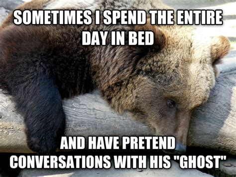 Gay Bear Meme - livememe com depression bear