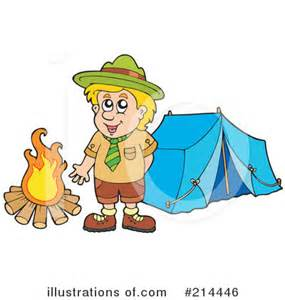 Scout Camping Clip Art