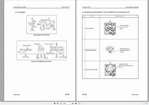 Komatsu Electric Reachtruck Ar50 Series Shop Manual