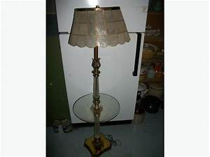 antique tray table floor lamp east regina regina With vintage floor lamp with tray