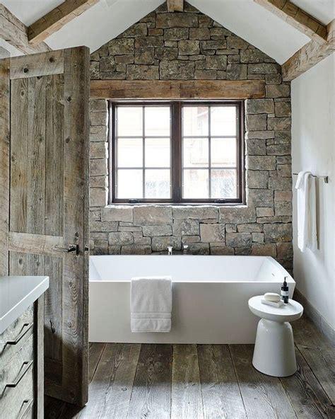salle de bain rustique du rustique dans la salle de bain floriane lemari 233