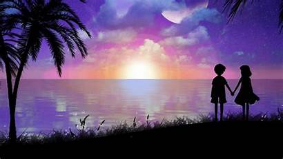 Romantic Anime Backgrounds Scenes Wallpapers Amazing Background