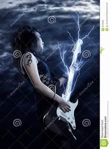Woman Rock Star Stock Photos - Image: 20733263