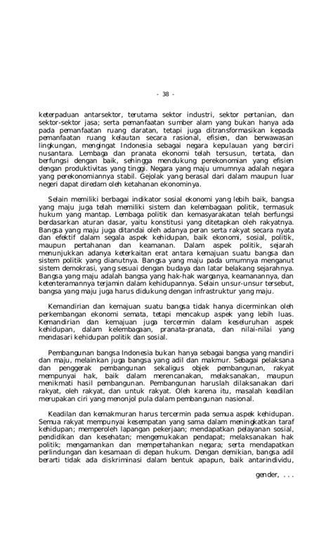 Lampiran : Undang-undang No. 17 Tahun 2007 tentang Rencana