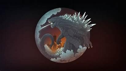 Godzilla Artwork Wallpapers King Monsters Creature Desktop
