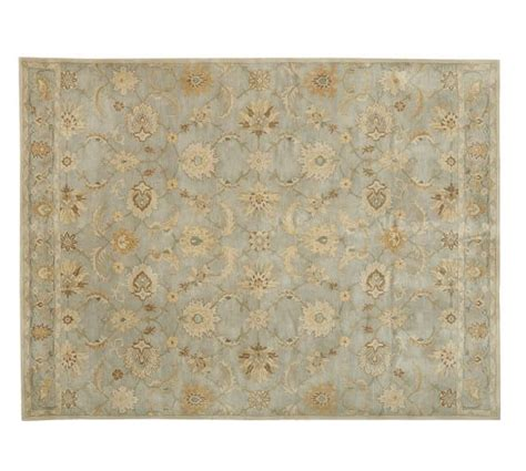 pottery barn rugs reviews pottery gabrielle persian style rug blue pottery barn