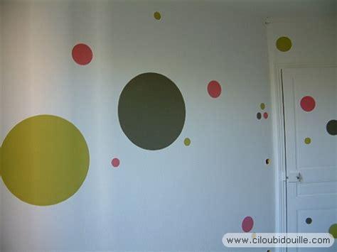 peindre mur chambre chambre à pois 1 ciloubidouille