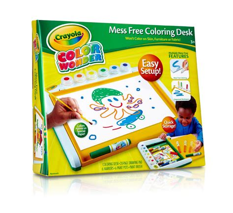 crayola color  mess  art desk  kit toys