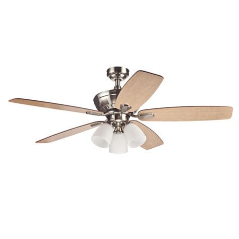 turn of the century fans turn of the century langner 52 quot brushed nickel ceiling