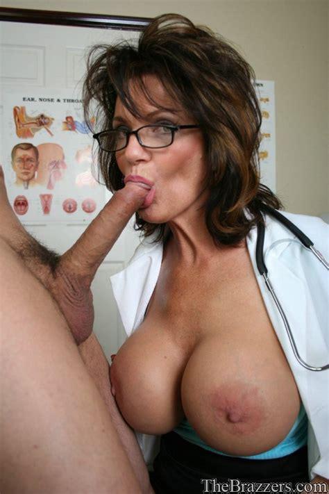 Busty Milf Doctor Deauxma Gets A Hard Boner For Her Cunt Pornpics Com
