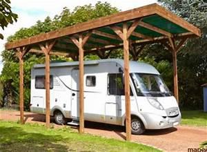 Abri Camping Car Bois : abri camping car et garage camping car en bois sur devis ~ Dailycaller-alerts.com Idées de Décoration
