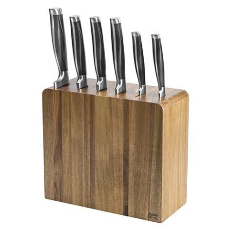kitchen knives block oliver six knife block set harts of stur