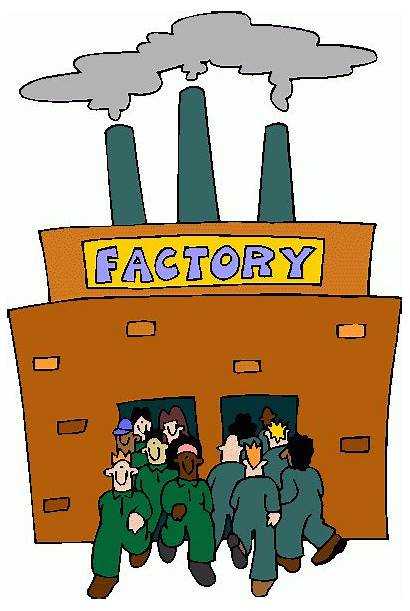 Factory Clip Clipart Industrial Revolution Manufacturing Factories