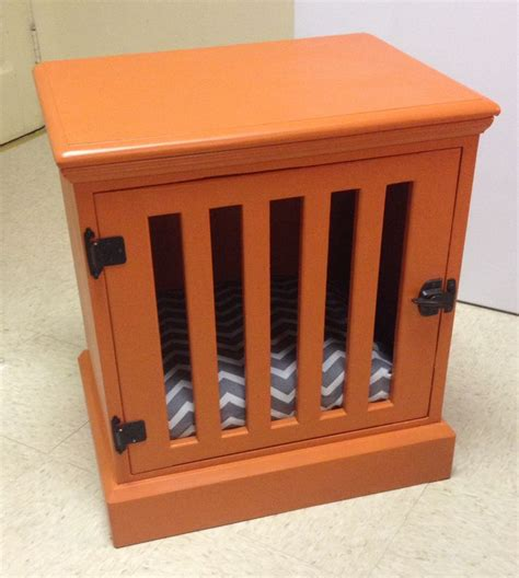 Diy Dog Crate Nightstand  Woodworking Projects & Plans