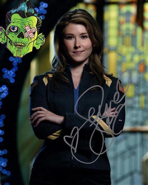 Stargate Atlantis Autograph Jewel Staite