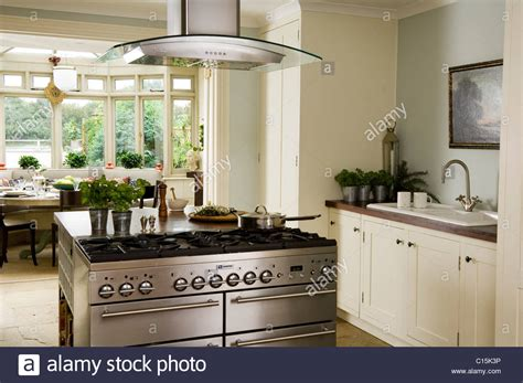 modern kitchen island with hob modern white kitchen with stainless steel island hob and
