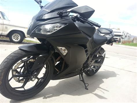 Kawasaki Ninja 300 Matte Black