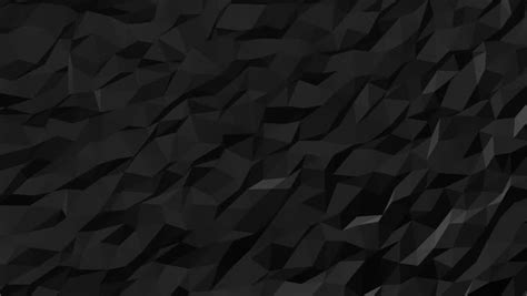 Abstract And Black Pattern Background by Black Low Poly Abstract Background Seamlessly Loopable